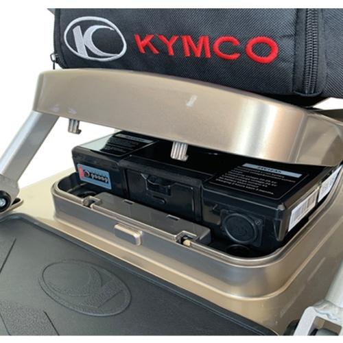 Kymco K Lite storage