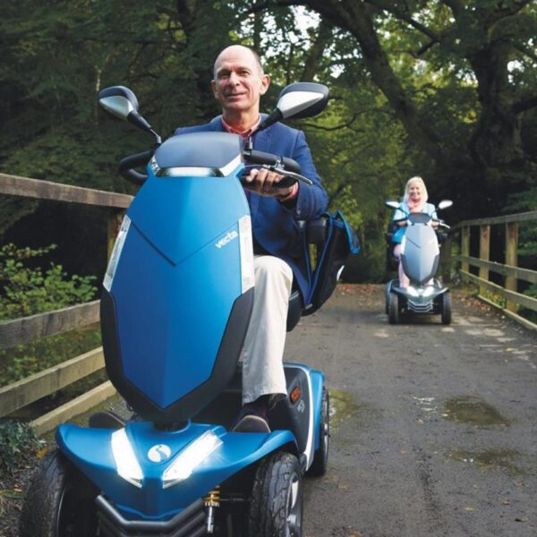 Rascal Vecta Sport Mobility Scooter road