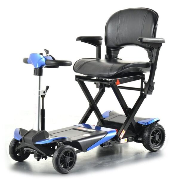 Smarti folding scooter blue front